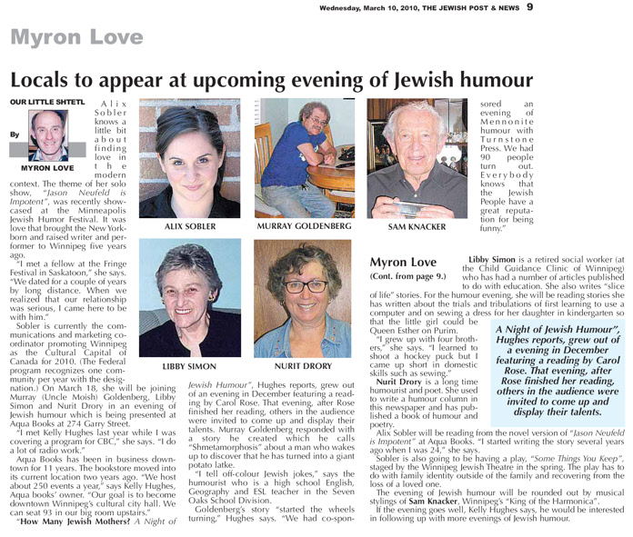 The Jewish Post and News 3.10.10